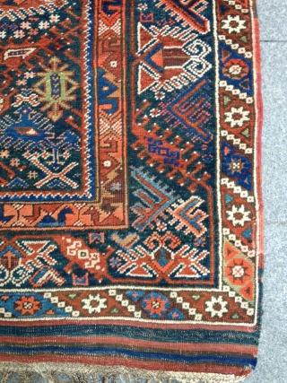 Antique Anatolian Döşeme Altı Carpet Size 146-123