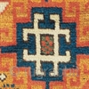 Yellow ground Kazak rug