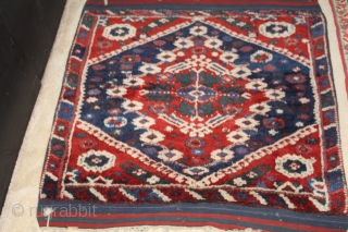 Mid 19th century Kiz Bergama great pile and color 