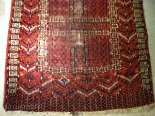 "late 19th century Tekke Ensi size 47""X53"""
