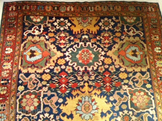 "NW Persian mid 19 th century great colors size 57""x113inch 145X287cm"