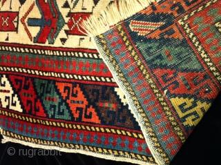 19 century kuba prayer rug 2'9X3'11
