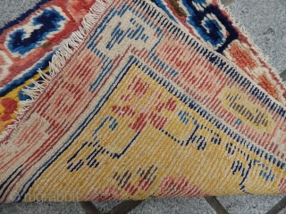 Antique Chinese Rug Bagfaces
