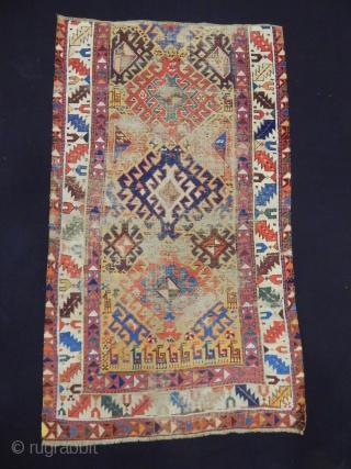 Antique Shahsavan Rug Fragment