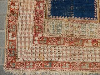 Antique West Anatolian Gördes Prayer Rug