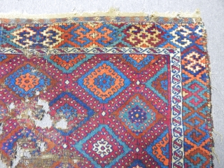 Old East Anatolian Rug Fragment