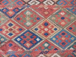 Antique Shahsavan Cecim Panel  size.45x56cm