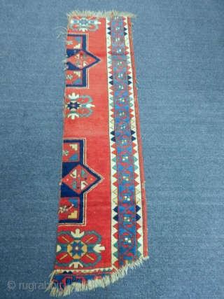 Antique Kazak Rug Fragment