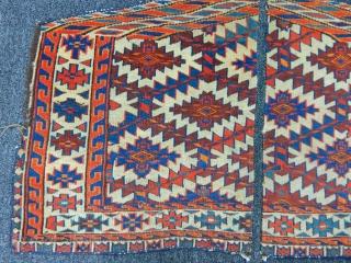 Antique Turkmen Yamut Asmalyk Fragment