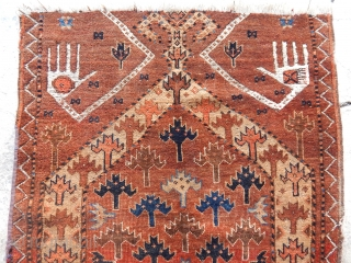 Antique Ersari Rug