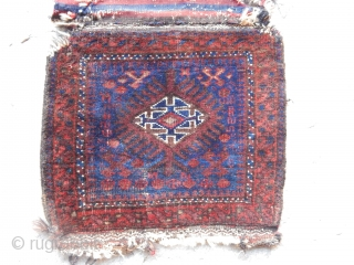Antique Baluch Bagface