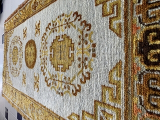 20th century Khotan rug 71 x 132 cm