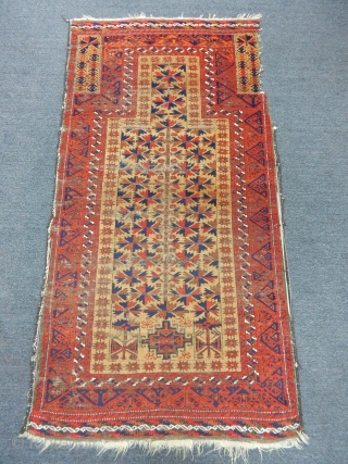 Old Baluch Prayer Rug