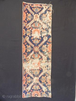 Antique Sahsavan Rug Fragment