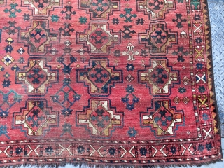 Antique Ersari Main Rug