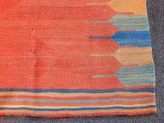 Qashqaii Kilim Sofra size.110x97cm