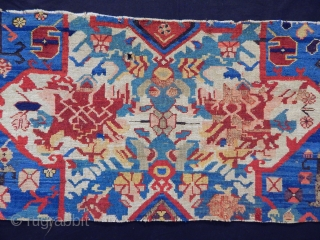 Old Zeyhur Carpet Fragment  size.46x110cm