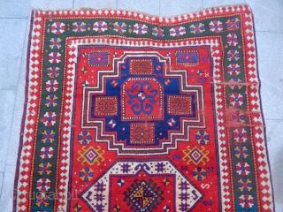Old Caucasian Loripambak Kazak Rug