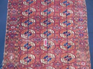 Old Turkmen Tekke Carpet size.160x105cm
