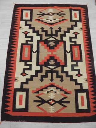 Old Navajo Kilim size.193x135cm