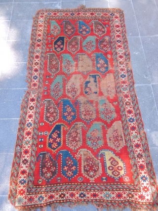 Old Caucasian Calabert Carpet size.200x110cm