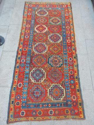 Old Sahsavan Mogan Carpet