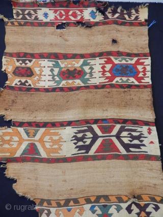 Antique Anatolian Kilim  size.255x93cm