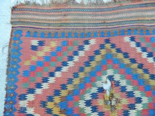 Antique Qashqaii Kilim