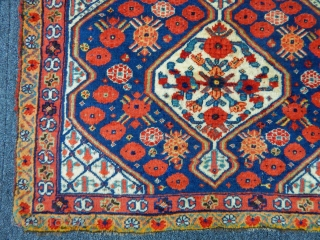 Wonderfull Qashqaii Qamse Bagface size.60x82cm