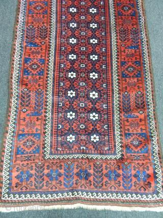Old Tumiri Baluch Carpet size.205x108cm