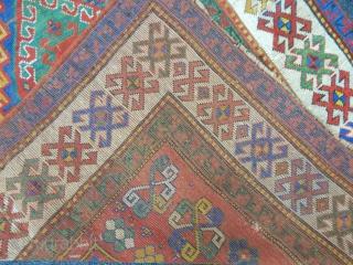 Old Fahrola Douple Prayer Carpet size.175x102cm