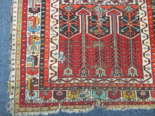 Antique Konya Ladik Prayer Carpet