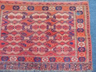 Old Turkmen Ersari Chuval