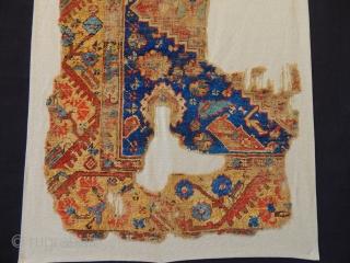 Antique Kula Rug Fragment