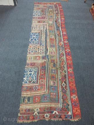 Antique East Anatolian Kilim  size.345x95cm