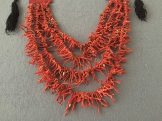 North-African Naturel color coral necklace and wall hanging decoration original pure coral