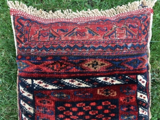 Great natural dyes and very good condition Luri Bakthiari saddle bag: 55 cm x 45 cm. Both sides piled and made to a cishion.