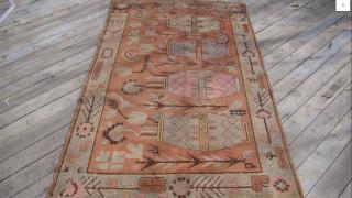 Antique Khotan, size 8.5 x 4.9