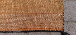 Vintage handmade Navajo rug 1960. Excellent condition.