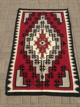 Vintage navajo rug.