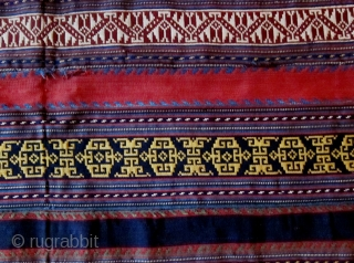 A Late 19th Century Shahsavan Silk Jajim