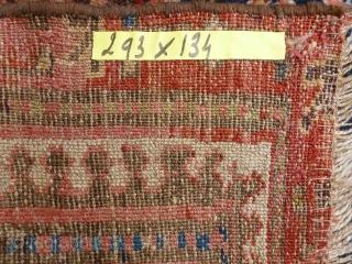 Kurdish rug, first part 19th century. 293 x 134 cm.