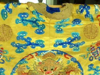 Imperial China coat. late 19th century.