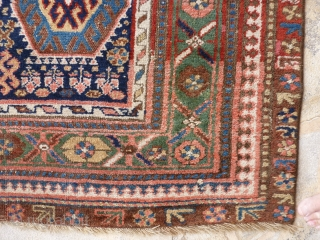 Kurdish rug, mid 19th century. 293 x 134 cm.