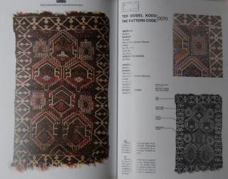 Türk El Dokumasi Halilar / Turkish Handwoven Carpets. Ankara, T.C. Kültür ve Turizm Bakanliği, 2006, 1st thus ed., 4to (33 x 23cm), 5 vols, colour illus., wrappers, dust-wrapper. Parallel text in Turkish  ...