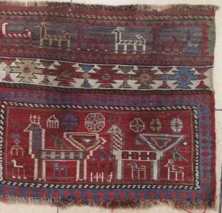 Mafraj nice bag face 19th century 117x48cm