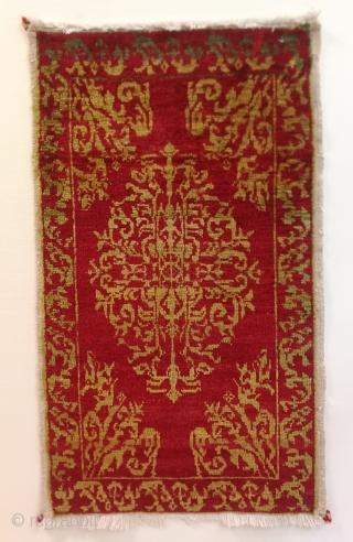 "Central Anatolian Konya (Sille)  Yastık, possibly woven by Anatolian Greek Artisans 1920s century, 14pcs and around the sizes 90x50cm 2.11""x1.7"""
