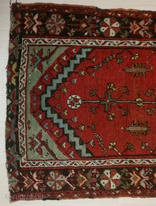 "Central Anatolian (Konya Ladik) Rug 19th Century Size:180x97cm / 5'11x3'2"""