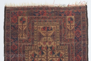 Beautiful Baluch tree of life prayer rug recently acquired. Beautiful wool and weave. Very good condition.   Please visit our website for more rare woven art : www.bbolour.com