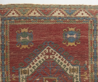 A rare Fachralo with great color and age. Almost all examples in this genre are late 19th century. This piece is easily mid 19th. Some condition issues that can be fixed.   Please  ...